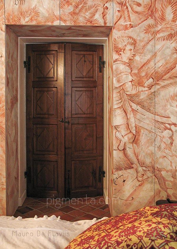 Armadio con decoupage decorare mobili con carta da parati - Decorazioni decoupage ...